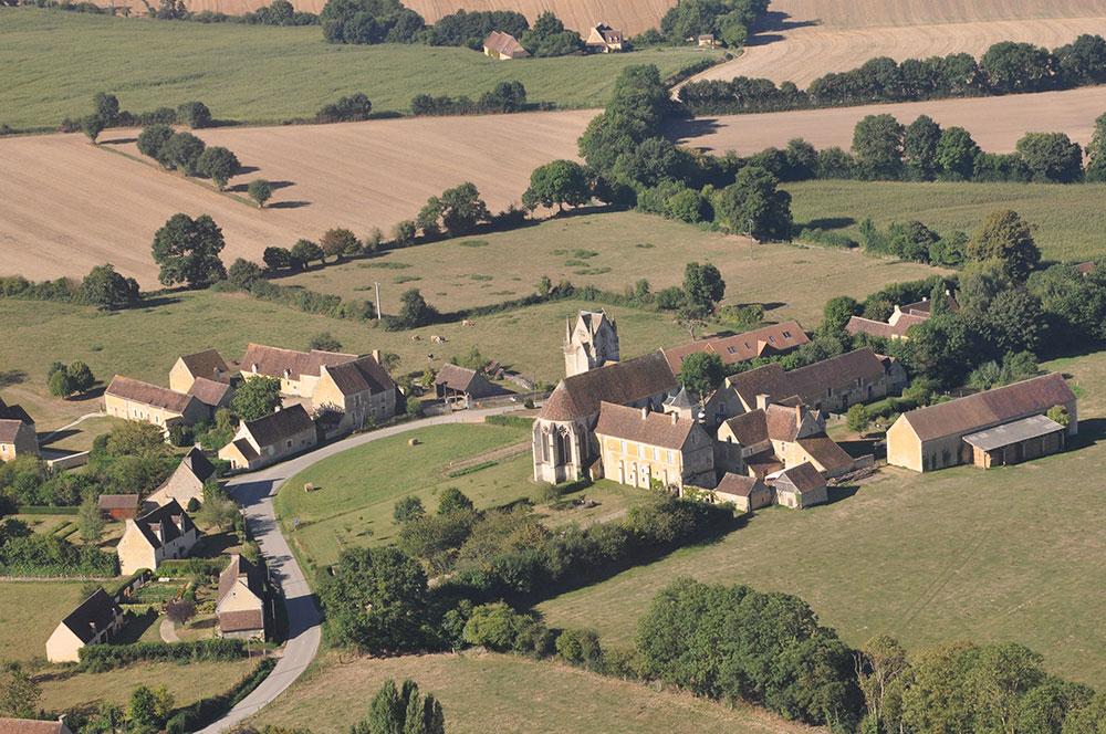 Vue de Sainte-Gauburge en Ulm