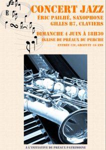 Concert jazz Préaux