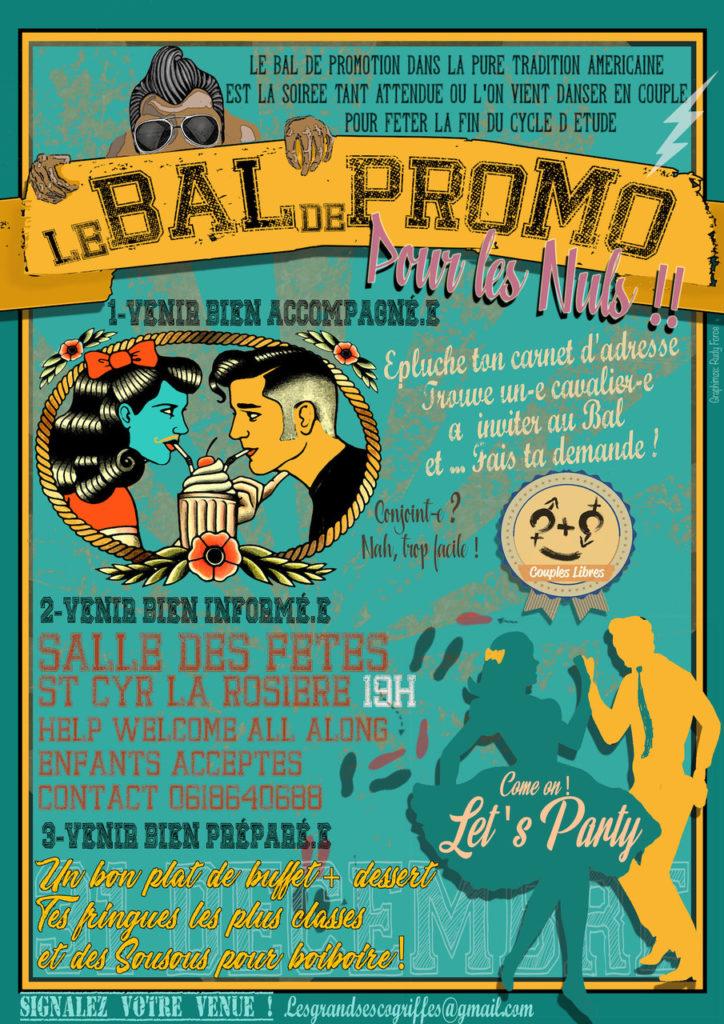 Bal Prom* à Saint-Cyr le 31 décembre