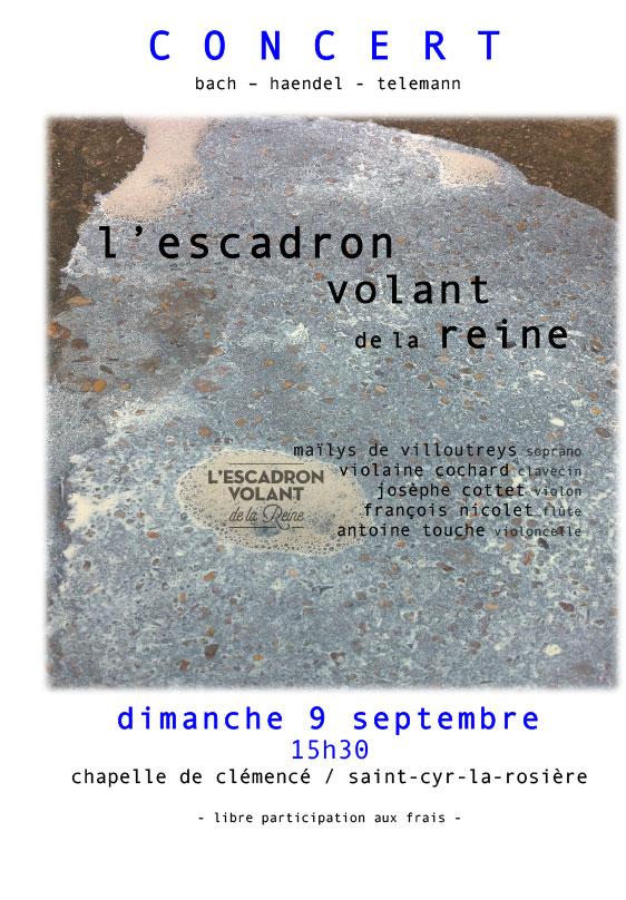 Concert 9 septembre à Clémencé