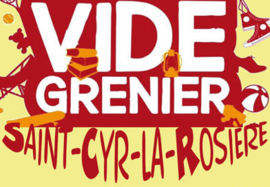 Vide-greniers à Saint-Cyr dimanche 13 septembre