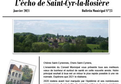 L'Echo de Saint-Cyr vient de paraître